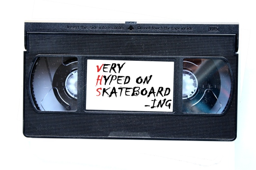 The product of boardom - vhs - very hyped on skateboarding