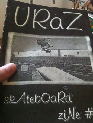 The Product of boardom - URAZ skateboard