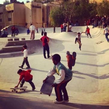 7hills skatepark Amman Jordan