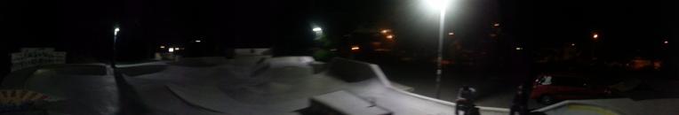 Selb - noční panoráma