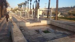 Jeruzalém - náměstíčko kousek od Starýho města
