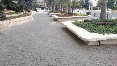 Spot kousek od Tel Aviv muzea moderního umění