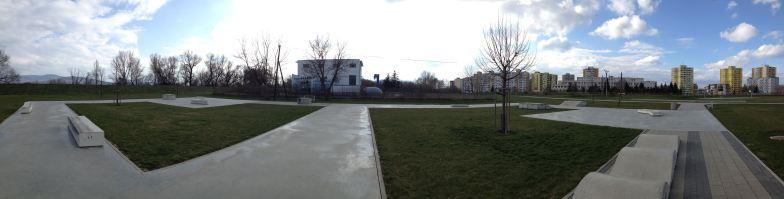 Novej skatepark designovanej Igou, jen už nevím kde :)