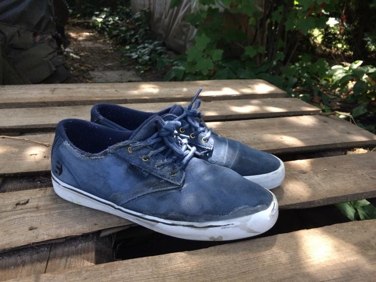 bota po 1 týdnu ježdění