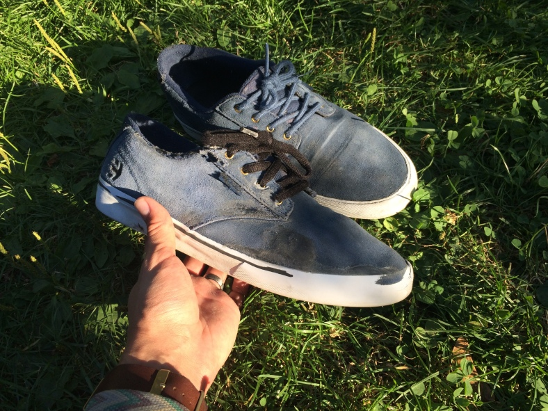 bota po měsíci